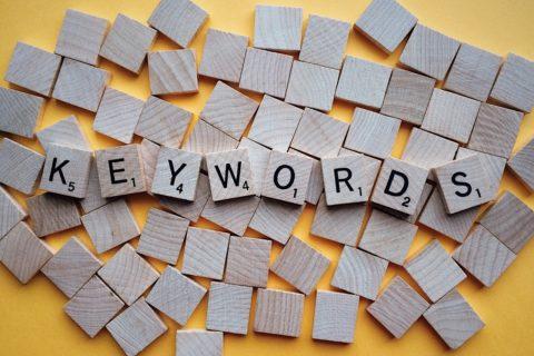 palabras clave o keywords
