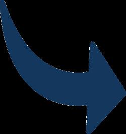 flecha azul derecha